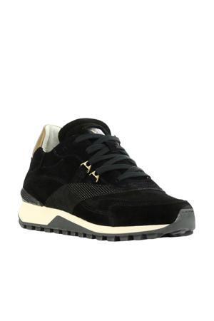 5503065  suède sneakers zwart