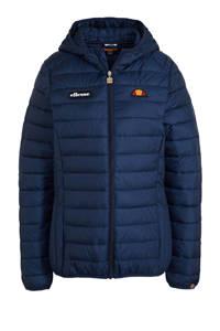 Ellesse gewatteerde jas donkerblauw, Donkerblauw