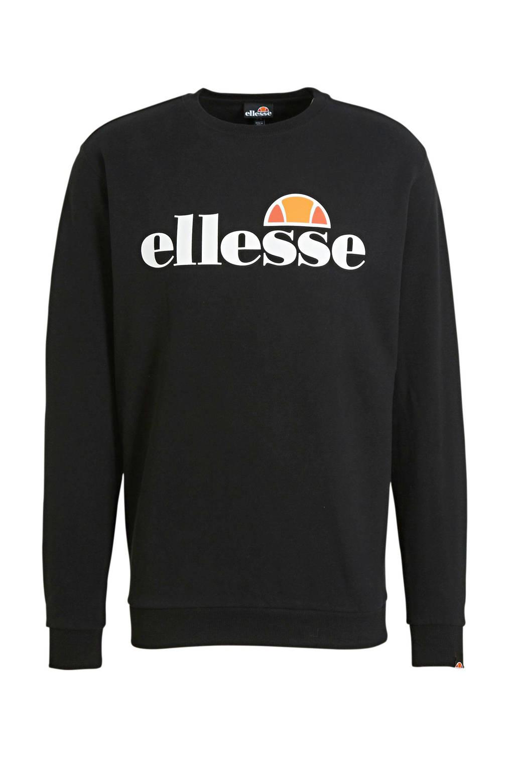 Ellesse sweater zwart, Zwart