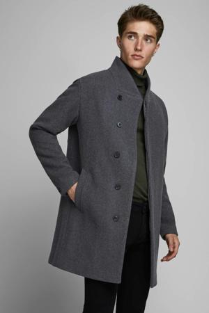 Collum winterjas met wol donkergrijs