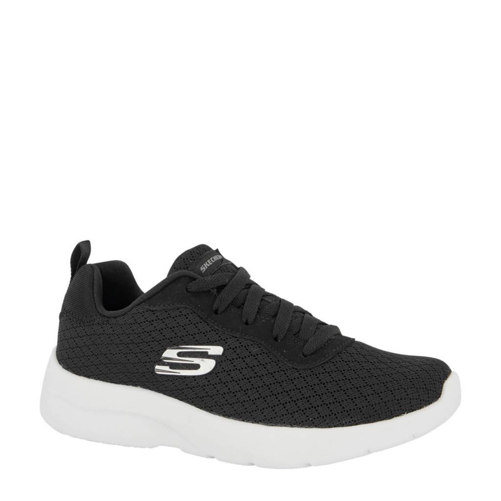 Skechers   sneakers zwart, Zwart/wit