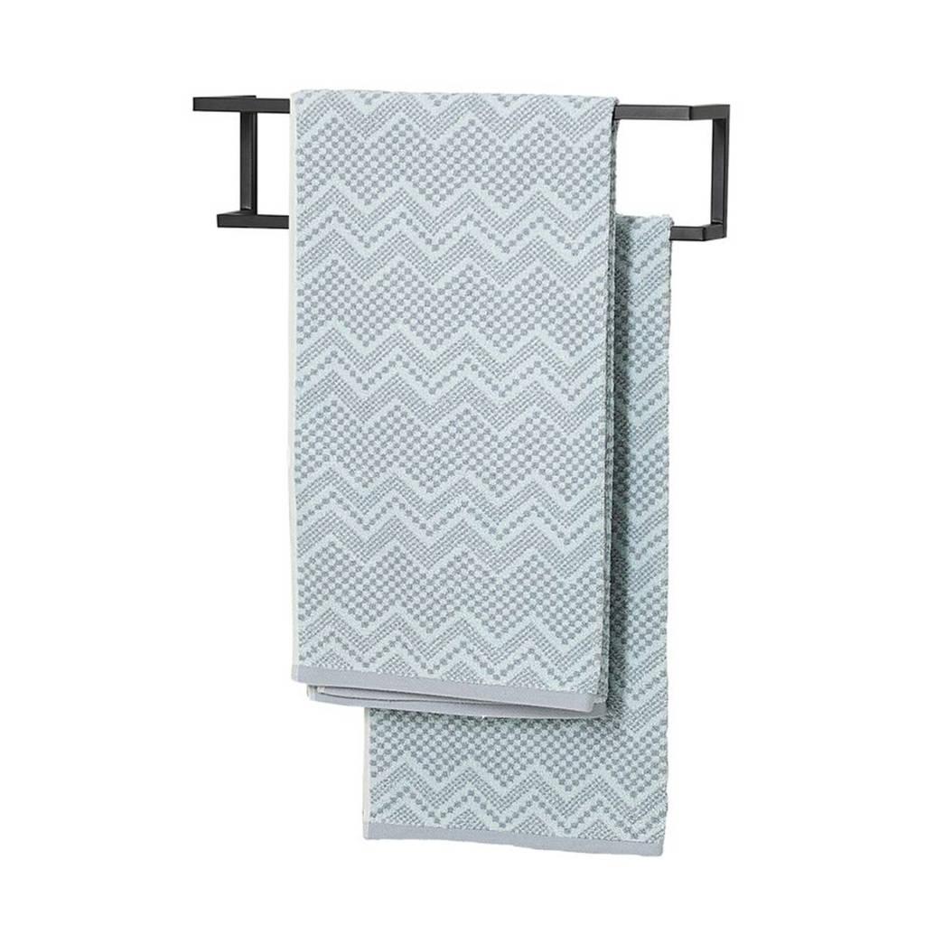 Sealskin handdoekrek Carré (12x48x12 cm), Zwart