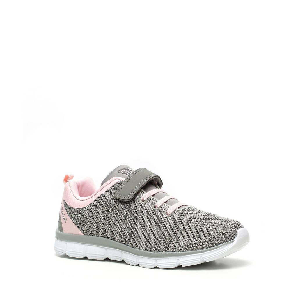 Scapino Osaga   sportschoenen grijs/roze, Grijs/roze