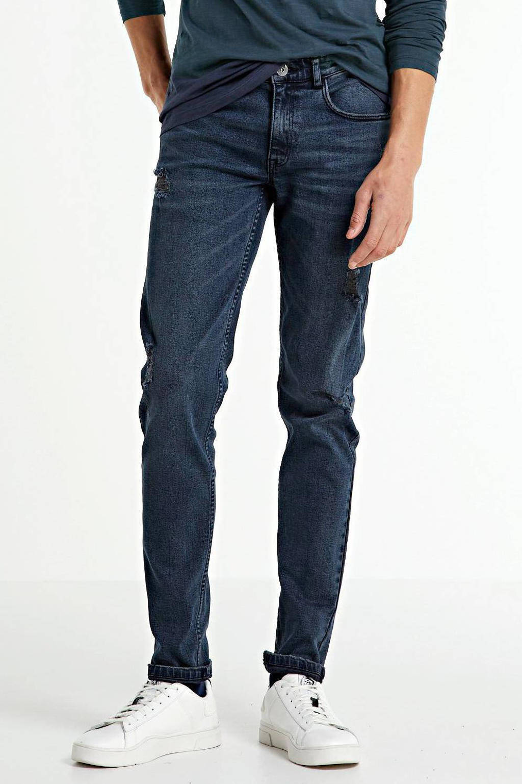 Redefined Rebel skinny jeans Stockholm ash blue