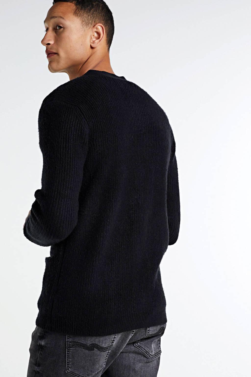 Redefined Rebel vest Toby zwart, Zwart