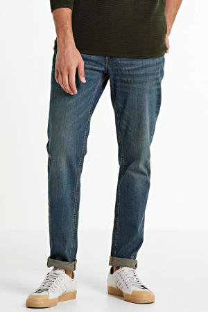 tapered jeans Chicago stonewashed