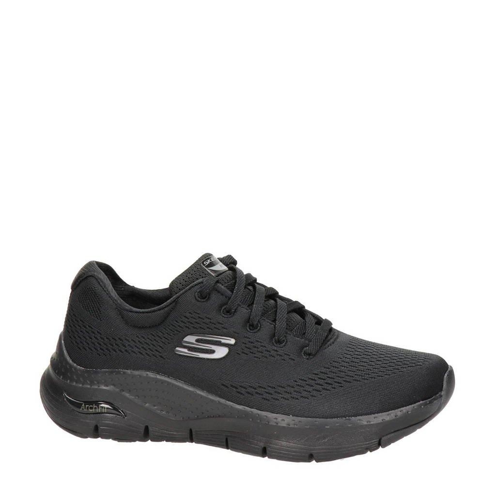 Skechers Arch Fit  sneakers zwart, Zwart