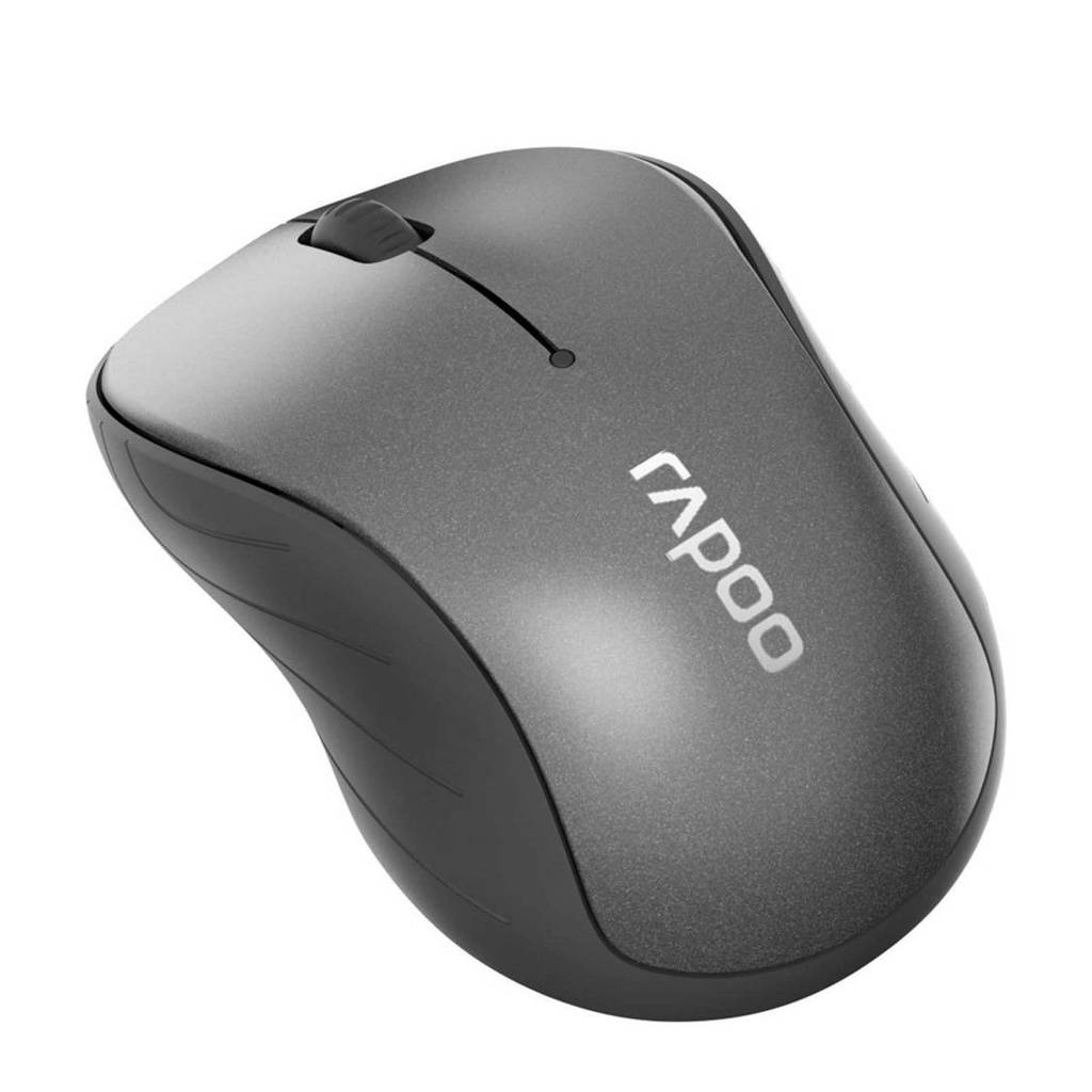 Rapoo M260 GR draadloze muis, Zwart