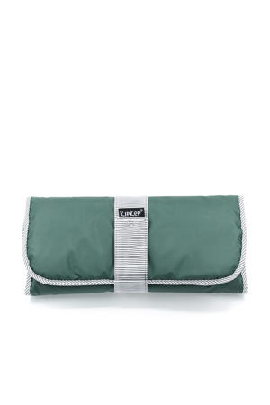 Napper verschoonmatje calming green