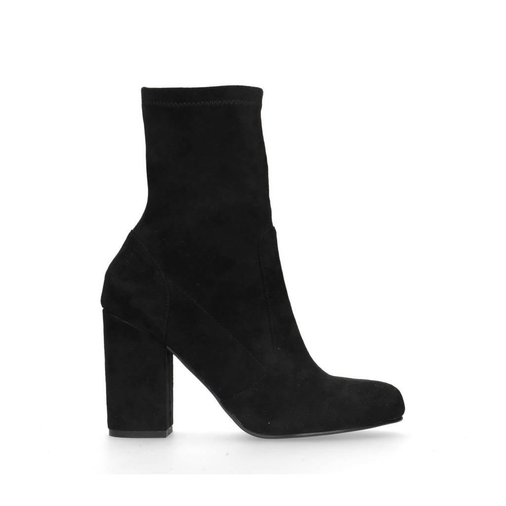 Sacha   sock enkellaarzen zwart, Zwart