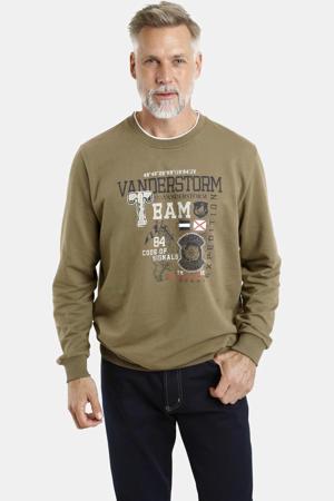 sweater Plus Size Jukka olijfgroen