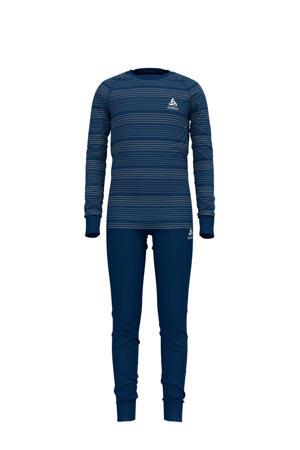 thermo ondergoed blauw (set)