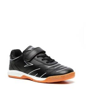 Jr. zaalvoetbalschoenen zwart/wit