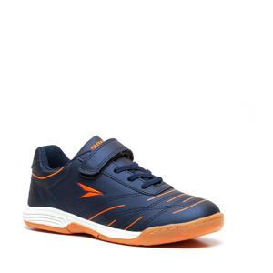 jr. zaalvoetbalschoenen blauw/oranje