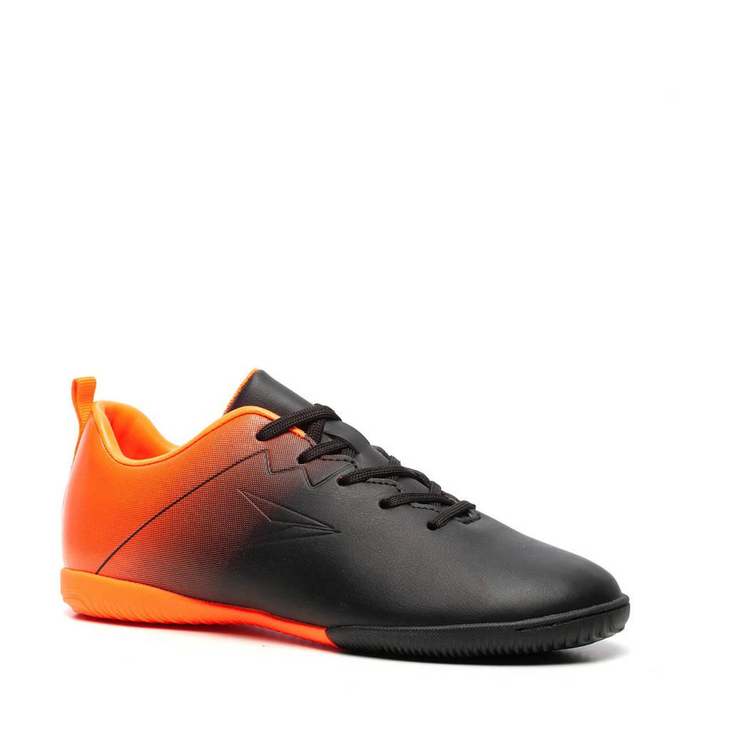 Scapino Dutchy   Jr. zaalvoetbalschoenen zwart/oranje, Zwart/oranje
