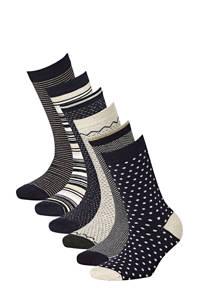 Apollo sokken Bamboe - set van 6 marine, Marine