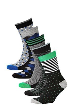 sokken Bamboo  - set van 6 zwart