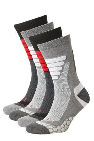 wandel sokken ( 4 paar) zwart