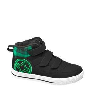 hoge sneakers zwart/groen