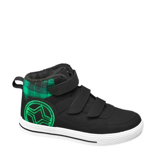 Vty hoge sneakers zwart/groen