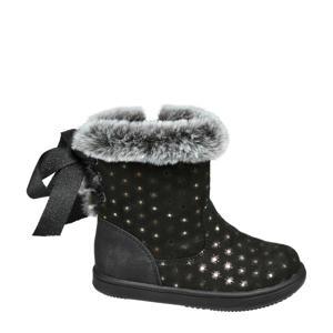 laarzen zwart/zilver