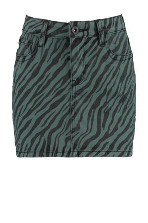 spijkerrok Rory met zebraprint