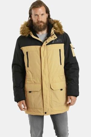 parka jas Plus Size JOKUM beige/zwart