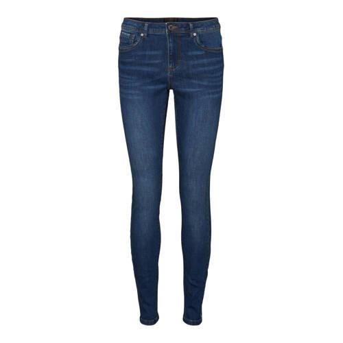 VERO MODA skinny jeans VMTANYA dark blue denim