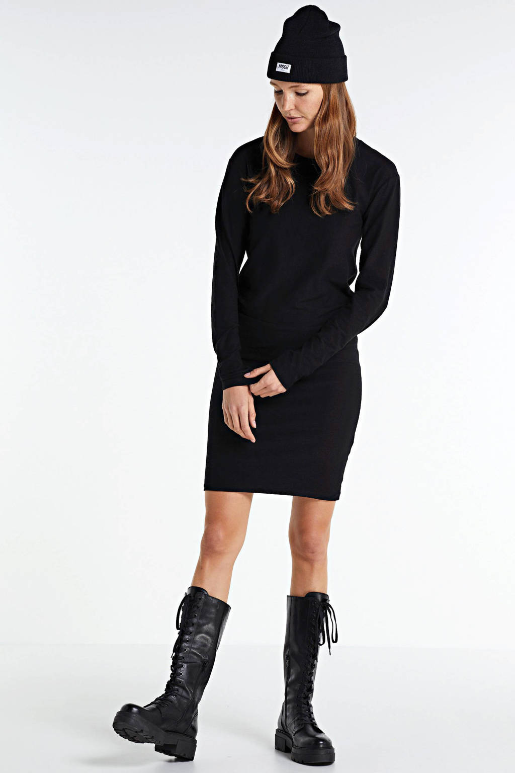 10DAYS jurk zwart, Zwart