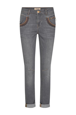 slim fit jeans Naomi Shade Jeans grijs