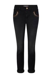 Mos Mosh slim fit jeans Naomi Mercury Jeans met biologisch katoen zwart, Zwart