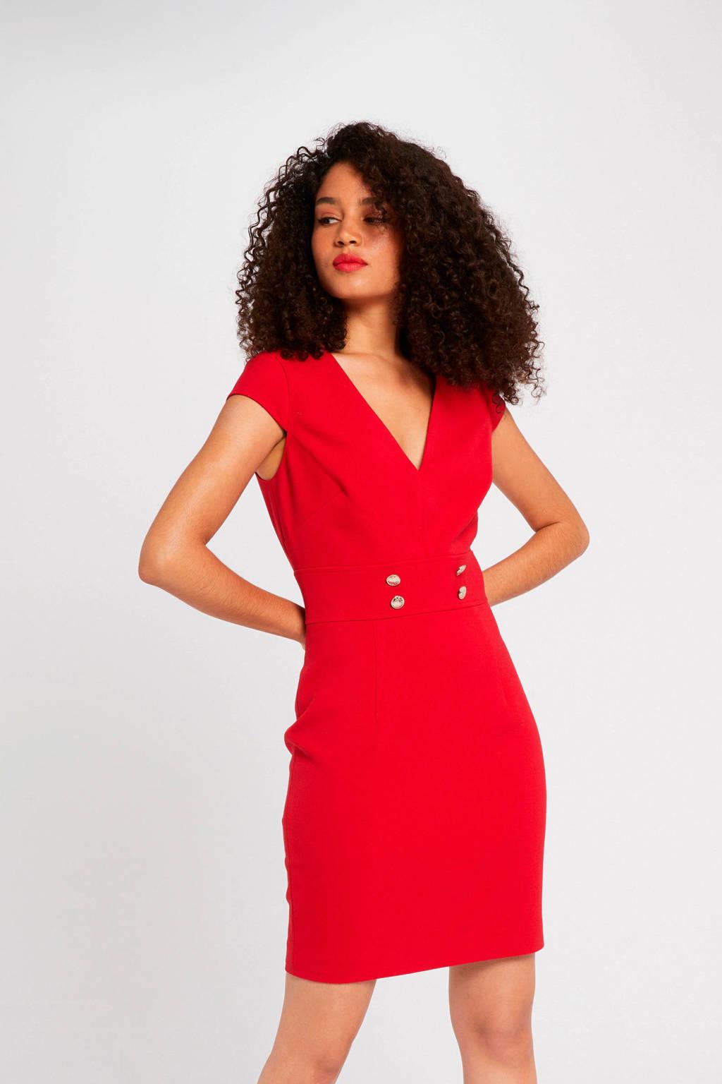 Morgan jurk rood, Rood