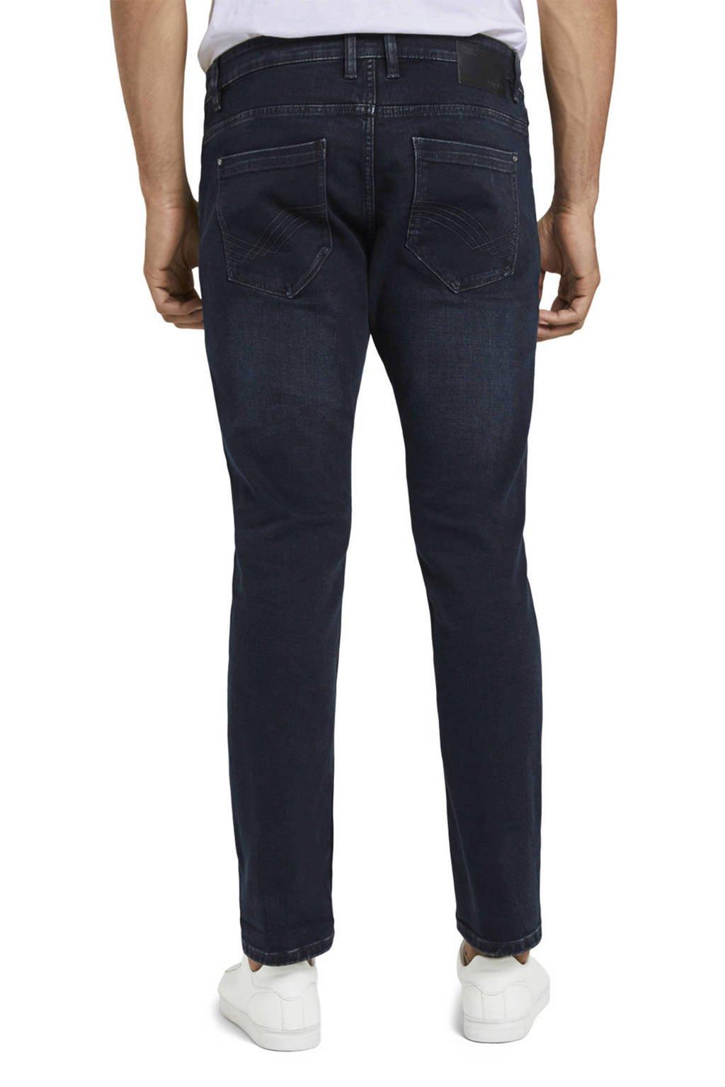 Tom Tailor slim fit jeans Josh donkerblauw, Donkerblauw