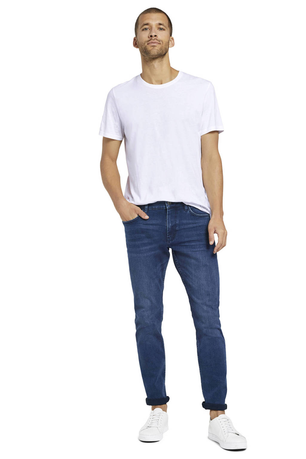 Tom Tailor slim fit jeans Josh dark denim, Dark denim