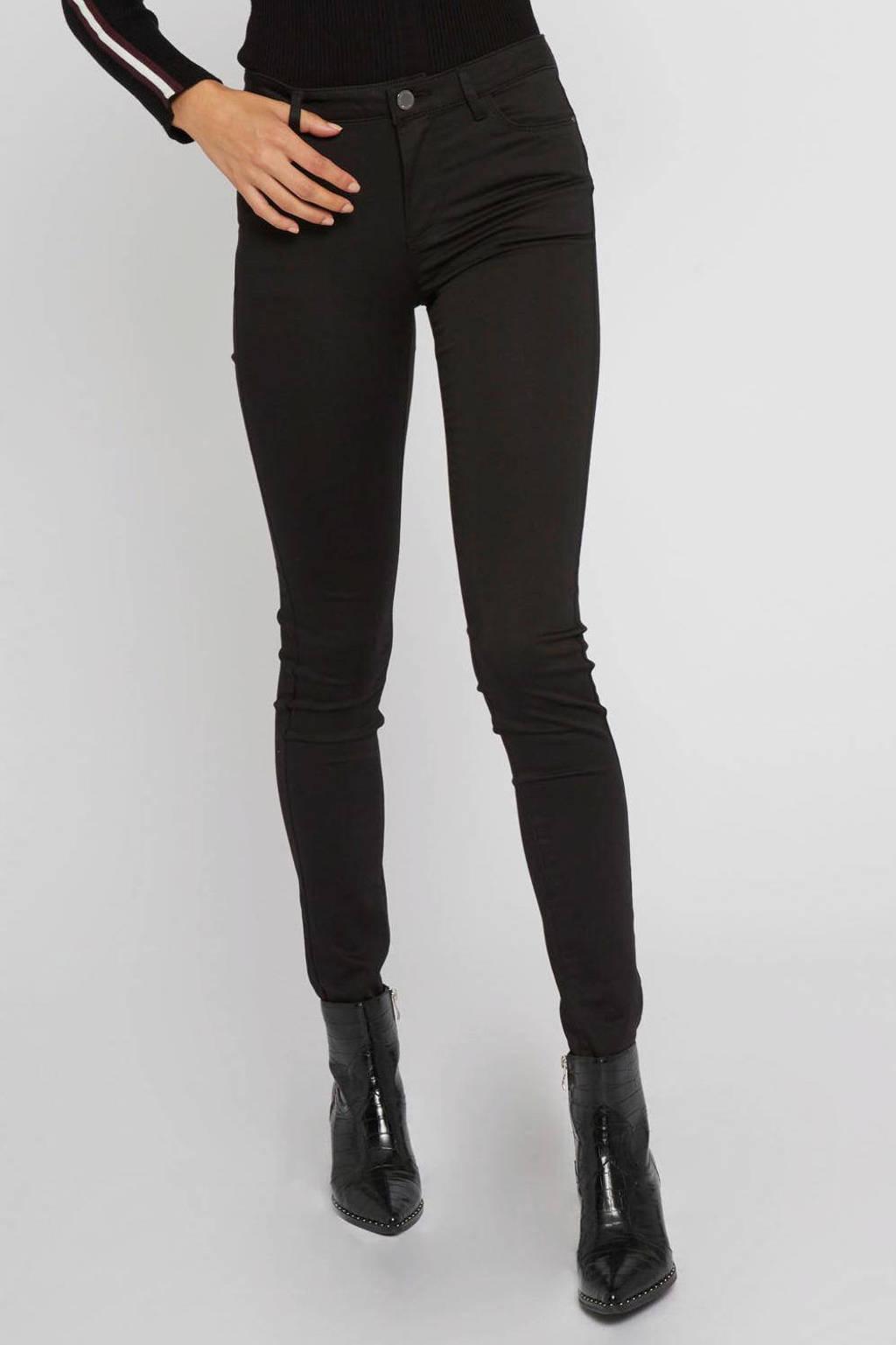 Morgan skinny jeans zwart, Zwart
