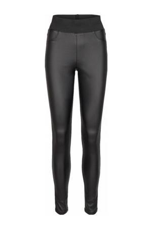 high waist skinny tregging SC-PAM 5-B zwart