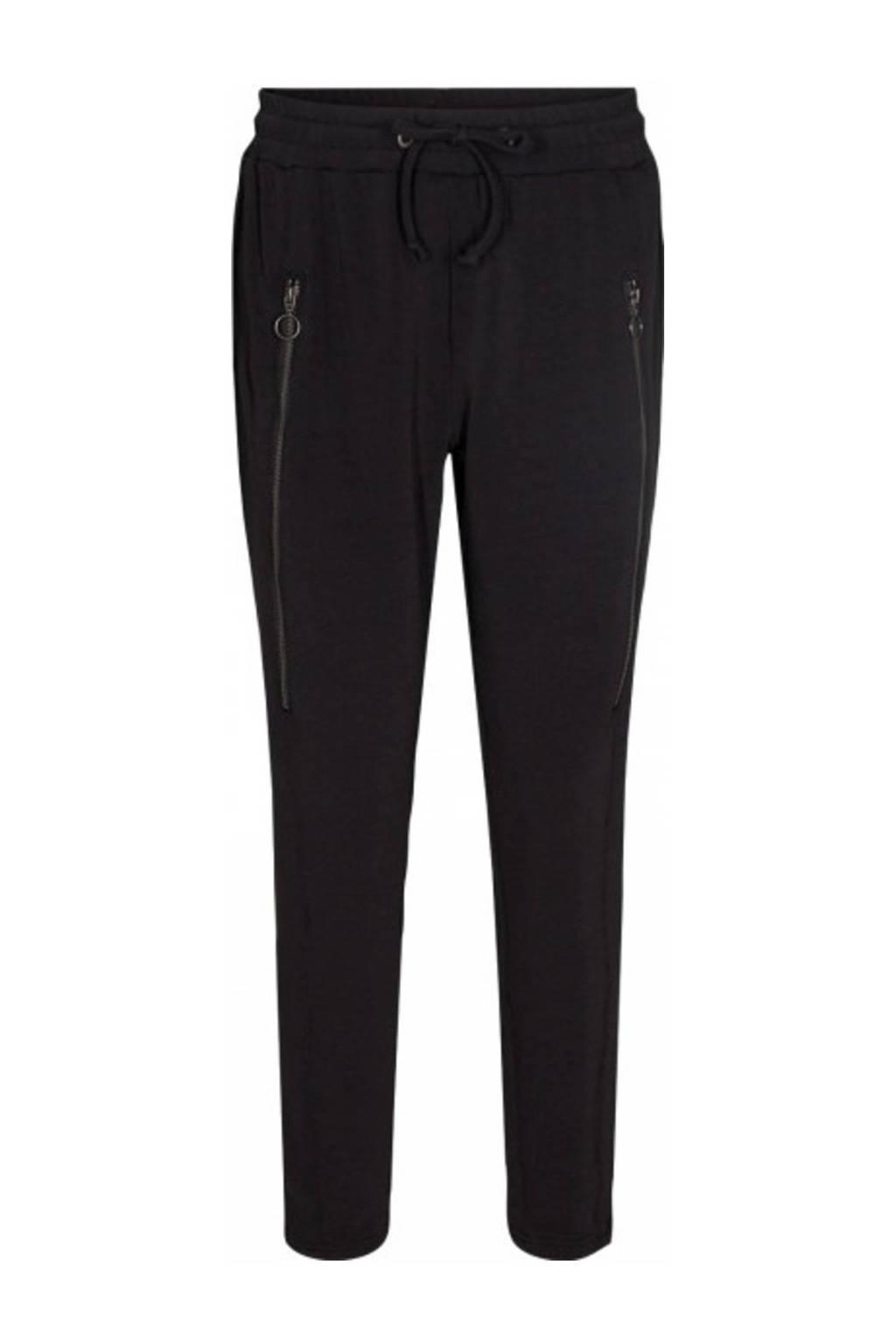 Soyaconcept slim fit broek SC-LEXCIA 1-B zwart, Zwart