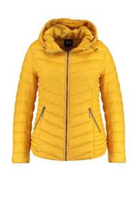 MS Mode gewatteerde jas geel, Geel
