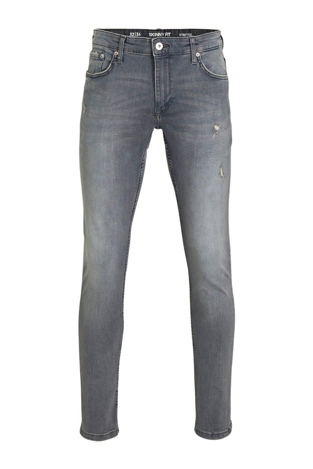 C&A Clockhouse skinny jeans grijsblauw, Grijsblauw