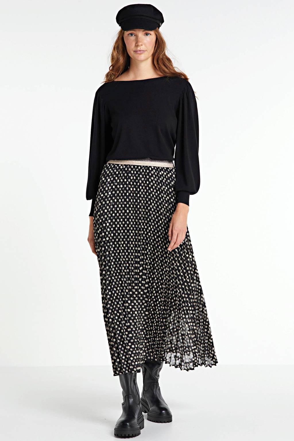 Summum Woman trui zwart, Zwart