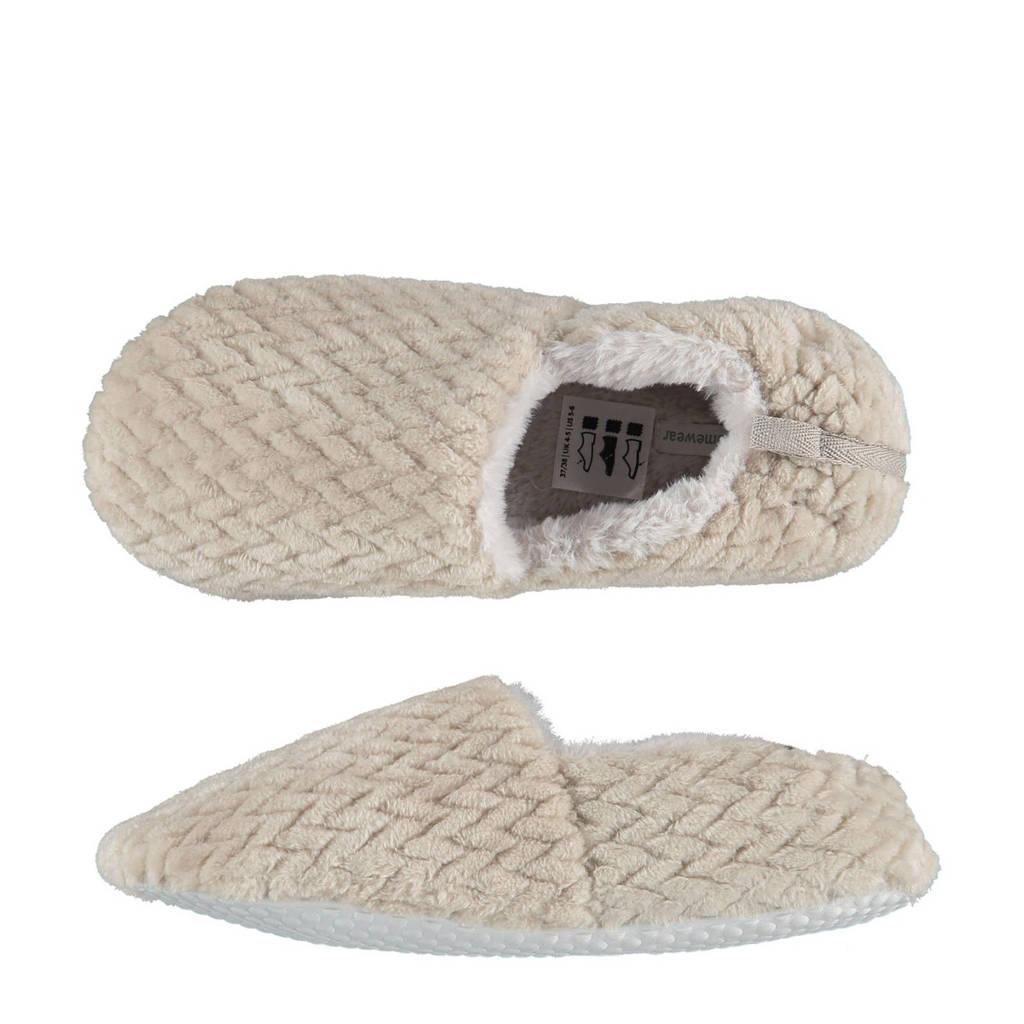 Apollo pantoffels ecru, Ecru