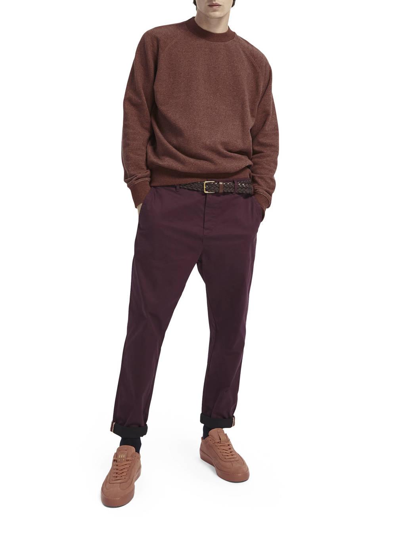 Scotch & Soda gemêleerde sweater bruin, Bruin