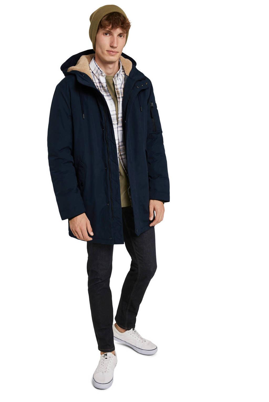Tom Tailor parka jas donkerblauw, Donkerblauw