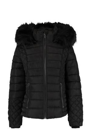 gewatteerde jas Jodie zwart