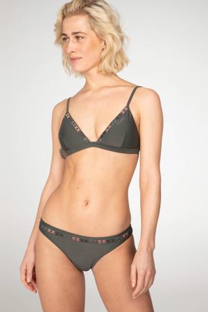 triangel bikini Lovino donkergroen