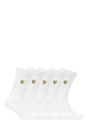 sokken Camdyn - set van 5 wit
