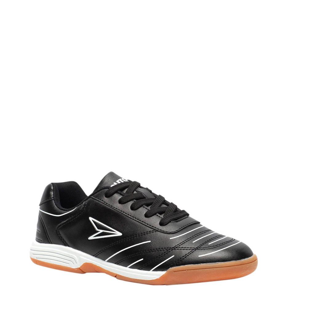 Scapino Dutchy   Jr. zaalvoetbalschoenen zwart/wit, Zwart/wit