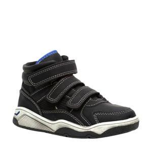 sneakers met klittenband zwart