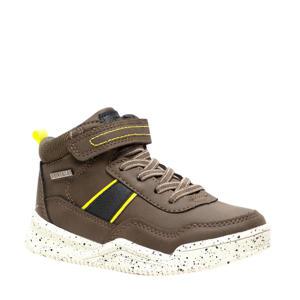 hoge sneakers legergroen