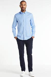 POLO Ralph Lauren geruit slim fit overhemd blauw/wit, Blauw/wit